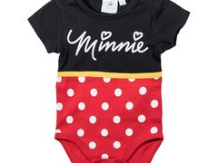 Body cu maneca scurta Disney Minnie